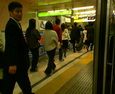 渋谷駅朝5  時