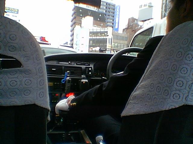ICレコーダーを使うタクシー
